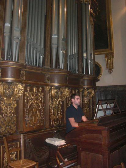 Répétition du concert à St Romain de Rouen